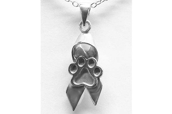 Very cool pendants ribbon w paw bw mozeypictures Images