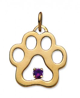 14k Puppy Paws® Charms