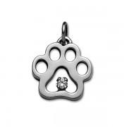 April - Swarovski® Puppy Paw® Pendant