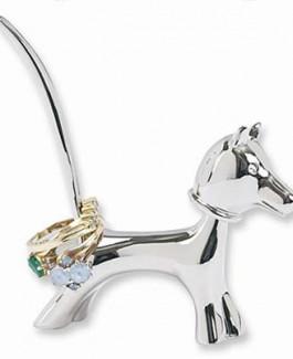 Puppy Bobble Head Ring Holder