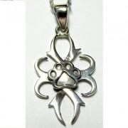 Celtic Antler Pendant w/Puppy Paw®