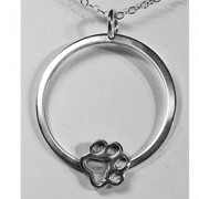 Circle of Life Pendant w/Puppy Paw®