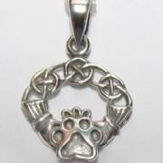Claddagh Pendant w/Puppy Paw®