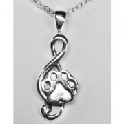 SS Musical Clef w/Puppy Paw®