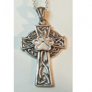 Celtic Cross w/Puppy Paw®  (Large)