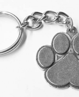 Pewter Key Chain