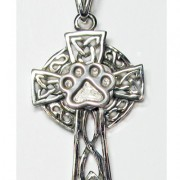 Celtic Cross w/Puppy Paw®  (Medium)