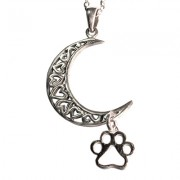Celtic Moon w/Hanging Puppy Paw®