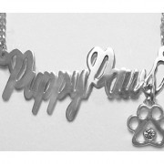 Puppy Love, Kennel & Grooming Shop Names in Sterling or Gold