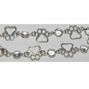SS Puppy Paw® Bracelet w/Puppy Paw® Charms