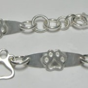 SS Puppy Paw® Bracelet