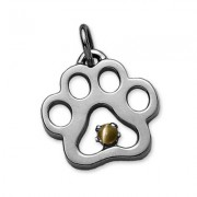 Kitten Paw Pendant by Puppy Paws® Pendant