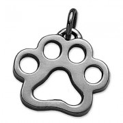 The Classic Puppy Paw® Pendant in Sterling