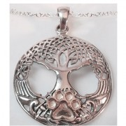 Tree of Life (SS Pierced) w/Puppy Paw®