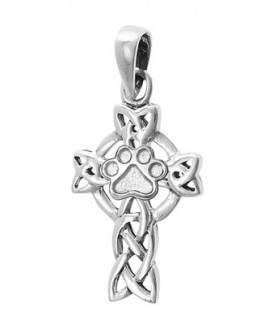 SS Celtic Cross w/Puppy Paw®