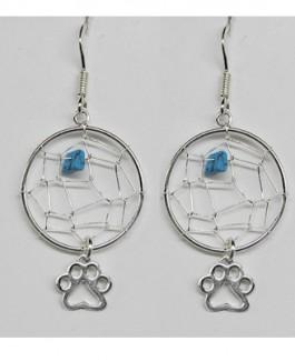 Dreamcatcher Earrings w/Puppy Paw®