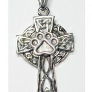 Celtic Cross w/Puppy Paw®  (Medium)