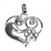 "Mother &  ""Child"" Pendant w/Puppy Paw®"