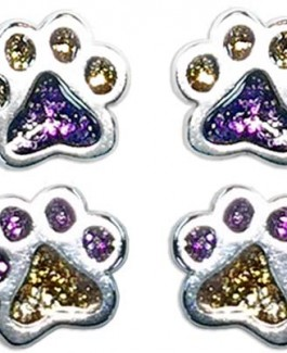 Tiny Post Puppy Paws® Earrings