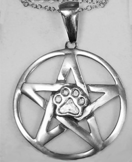Pentacle w/Puppy Paw® Pendant